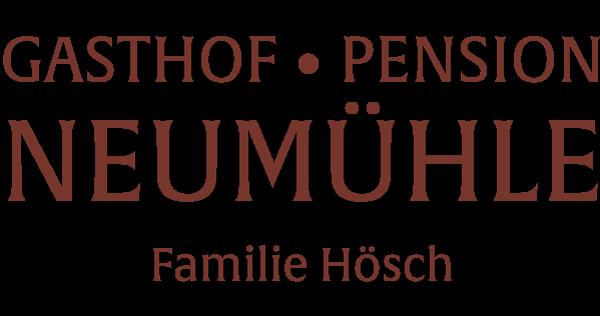 Logo Gasthof Pension Neumühle