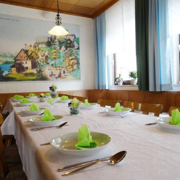 Festlichkeit Tisch